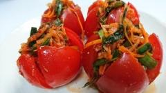 トマトのさっぱりキムチ