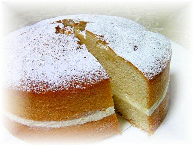 我が家風ヴィクトリアサンドイッチケーキ レシピ・作り方 by tara@minfannote|楽天レシピ