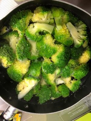 ブロッコリー 美味しい 茹で 方