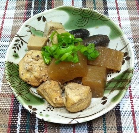 和食で健康♪大根と鶏肉の煮物☆