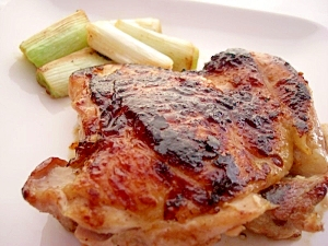 若鶏もも肉の塩麹ソテー