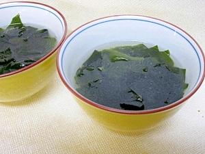 誕生日のわかめスープ