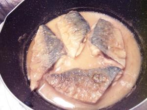 フライパンde簡単☆さばの味噌煮☆