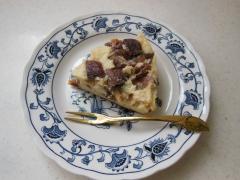 ミキサーで作る★干し柿のヨーグルトケーキ