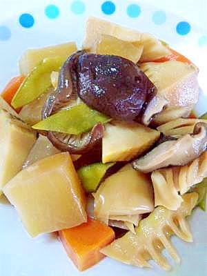 超簡単☆根菜の煮物