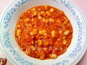 トマト缶で作る★大豆&チキンカレー