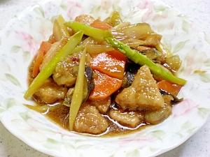 豚肉と海老の中華風炒め煮