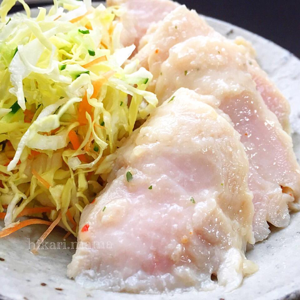 美味しくダイエット♪しっとり柔らか~サラダチキン風 レシピ・作り方 by ひかりママ*|楽天レシピ