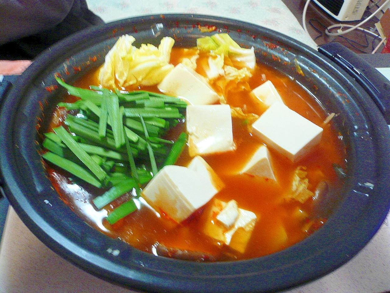 豚キムチ鍋:126