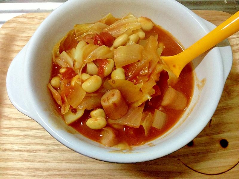 野菜たっぷり☆トマトカレースープ