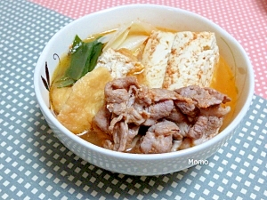 コチュジャン入り肉豆腐
