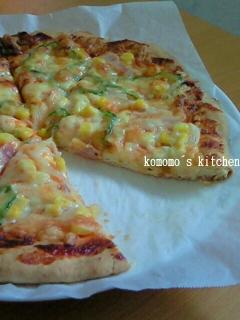 ホットケーキミックスで☆超簡単ピザ