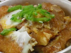 高野豆腐DEカツ丼♪