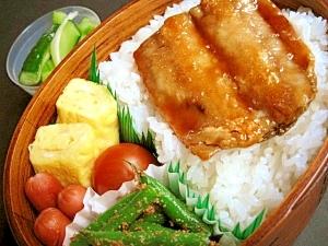 秋刀魚の蒲焼弁当
