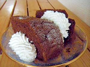 ラム酒たっぷり☆オレンジココアケーキ