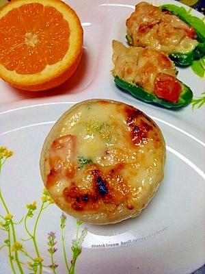 丸ごと玉葱&野菜グラタン