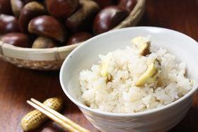 秋の味覚☆美味しい栗ご飯