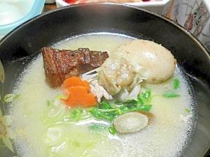 相変わらずテキトー三昧☆豚汁風味噌仕立てのお雑煮