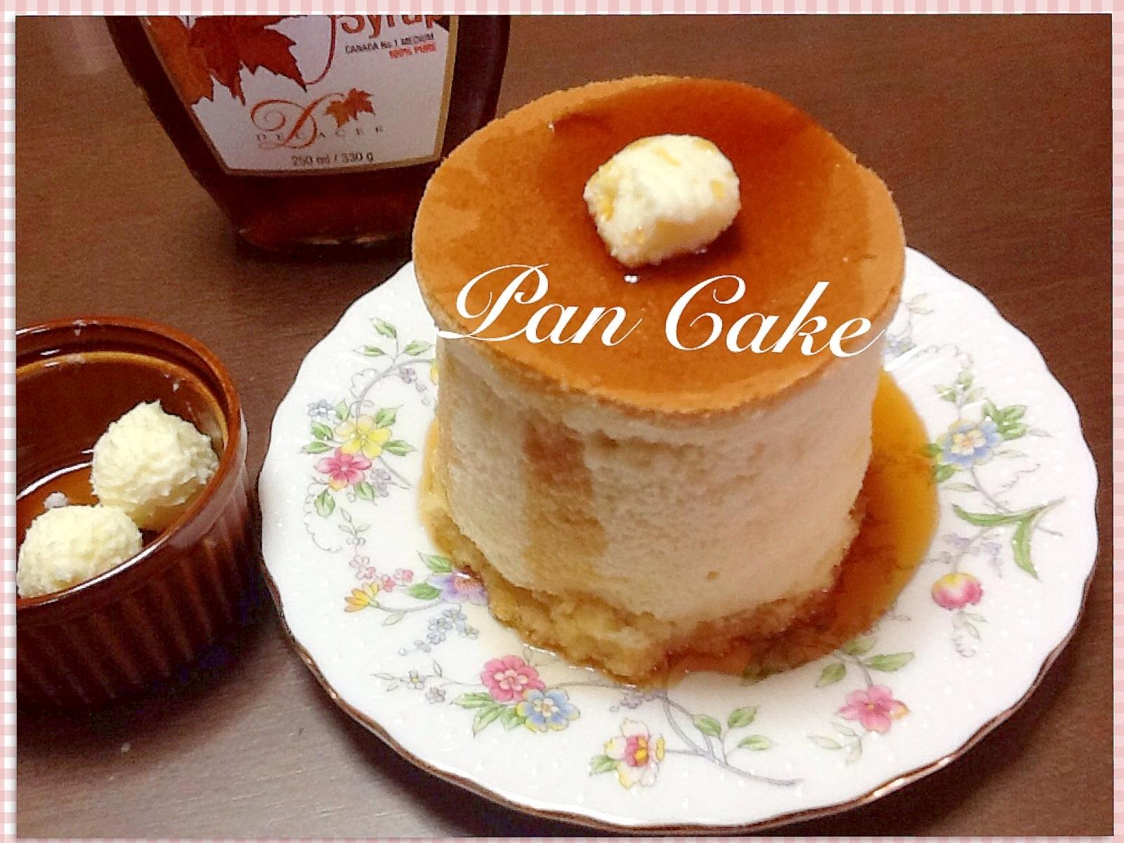 ふわふわ厚焼きパンケーキ