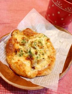 発酵不要♪トースターで簡単本格的!紅茶豚の低糖ピザ