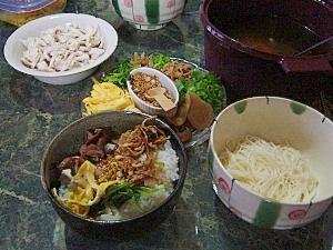 パイカジ奄美★ケーファン(鶏飯)&ケーミン(鶏麺)