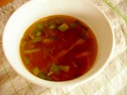 お鍋も綺麗に☆カレースープ