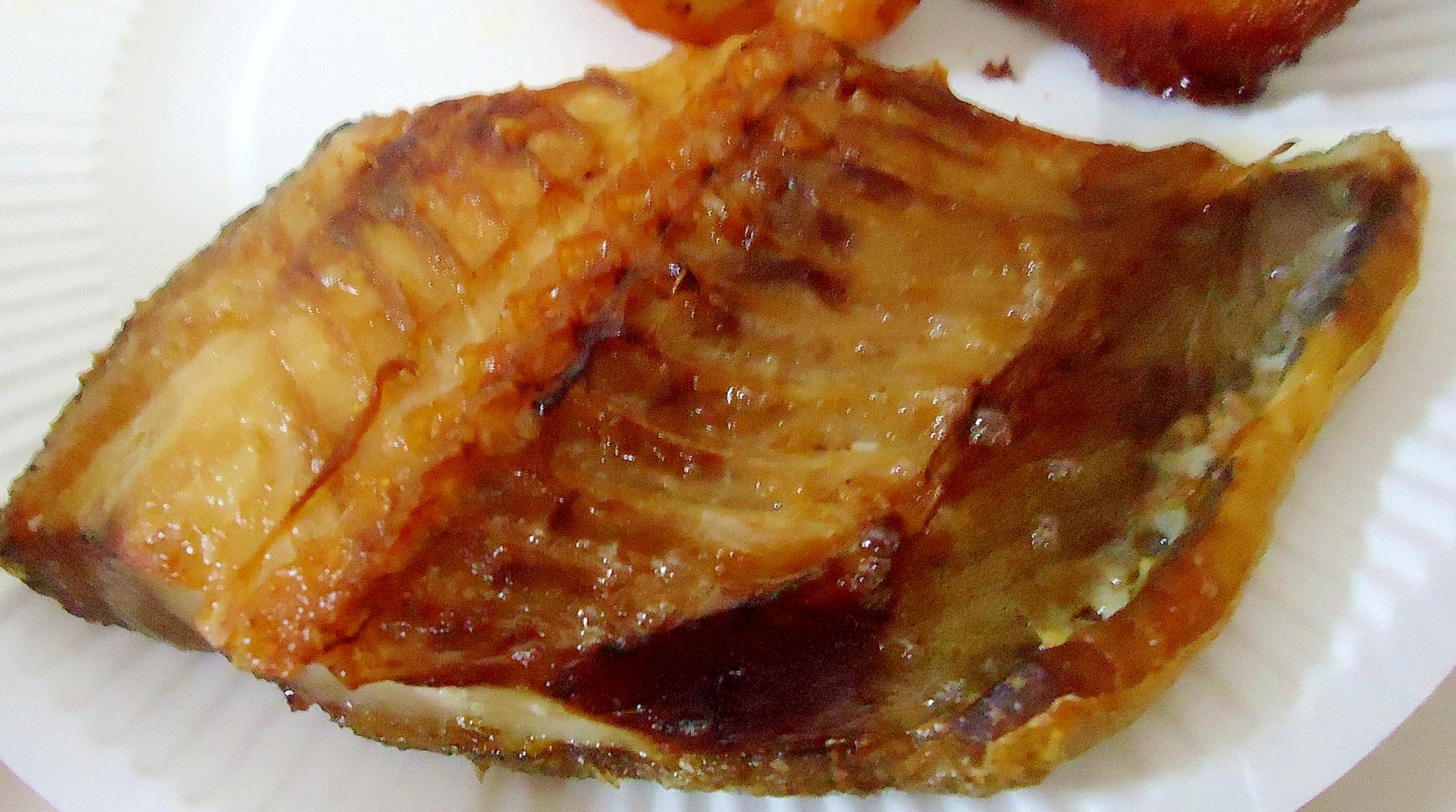 トースターで焼き魚