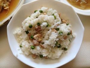 チキンピース中華ご飯