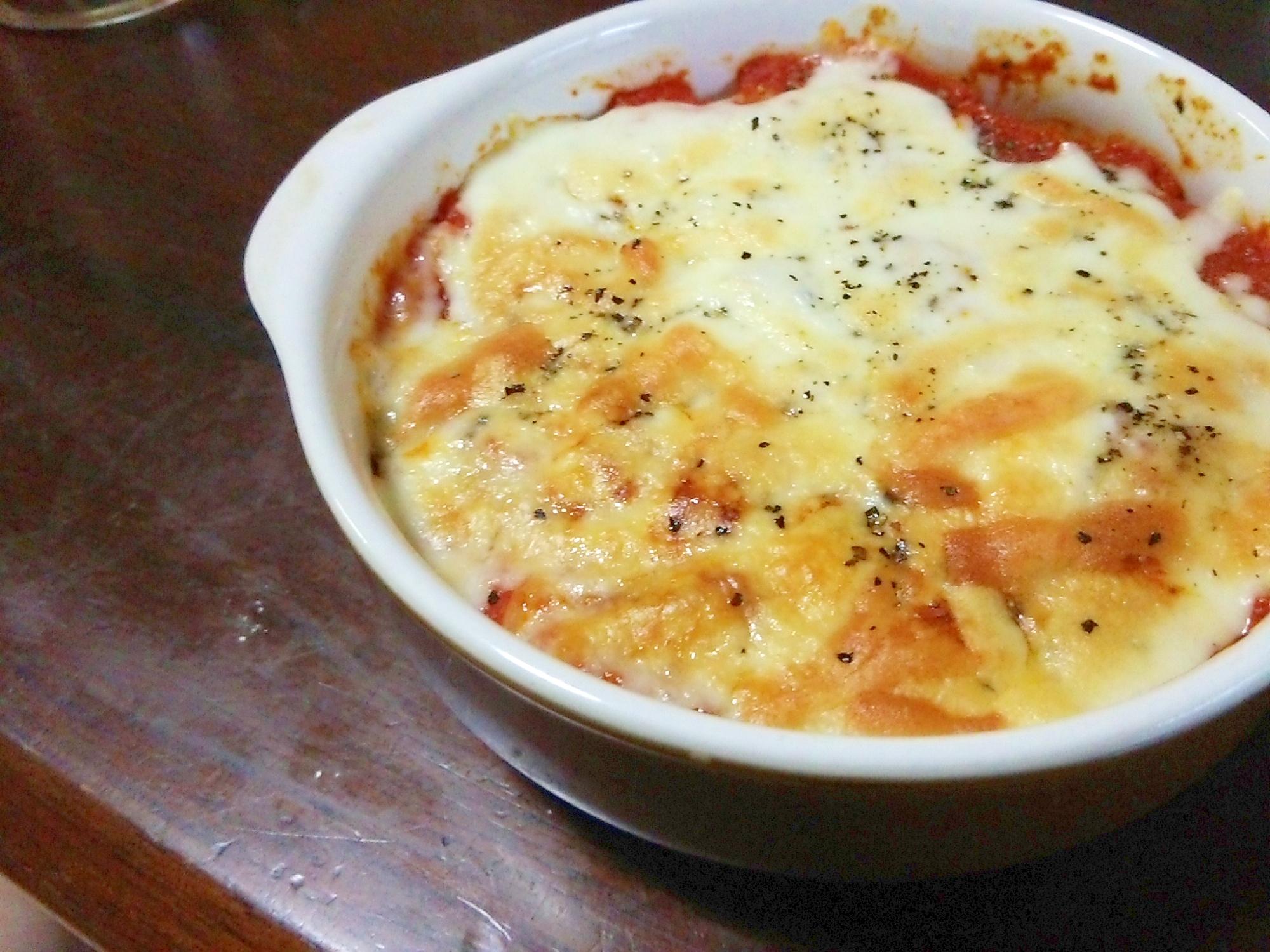 簡単トマトチーズドリア