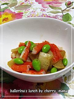 お弁当用★簡単!カブとかにかまの麺つゆ炒め