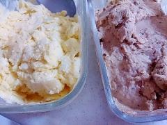 【糖質制限】同時にバニラアイス&チョコレートアイス