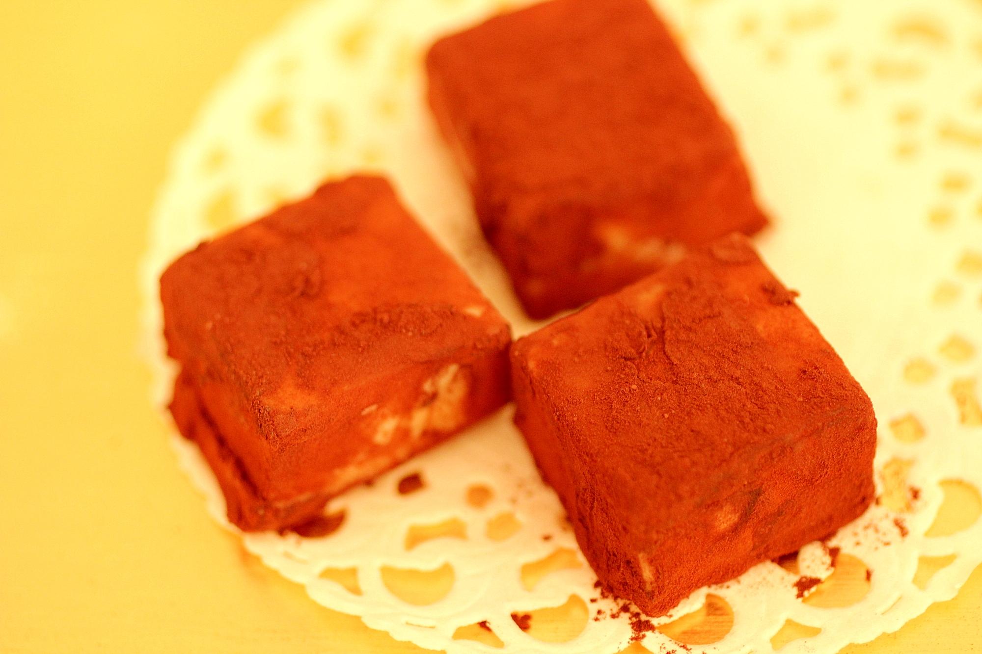 花粉症・冷え症に【石畳チョコレート】風!酒粕
