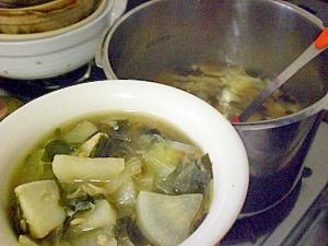 圧力鍋でデトックススープ?