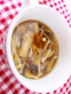 和風きのこスープ