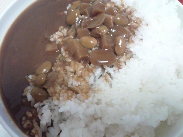 豆とマッシュルームカレー