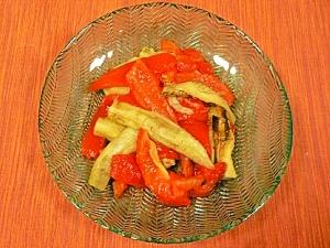 簡単スペイン料理~焼き野菜のマリネ