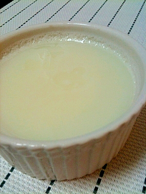 杏仁豆腐みたいな牛乳プリン
