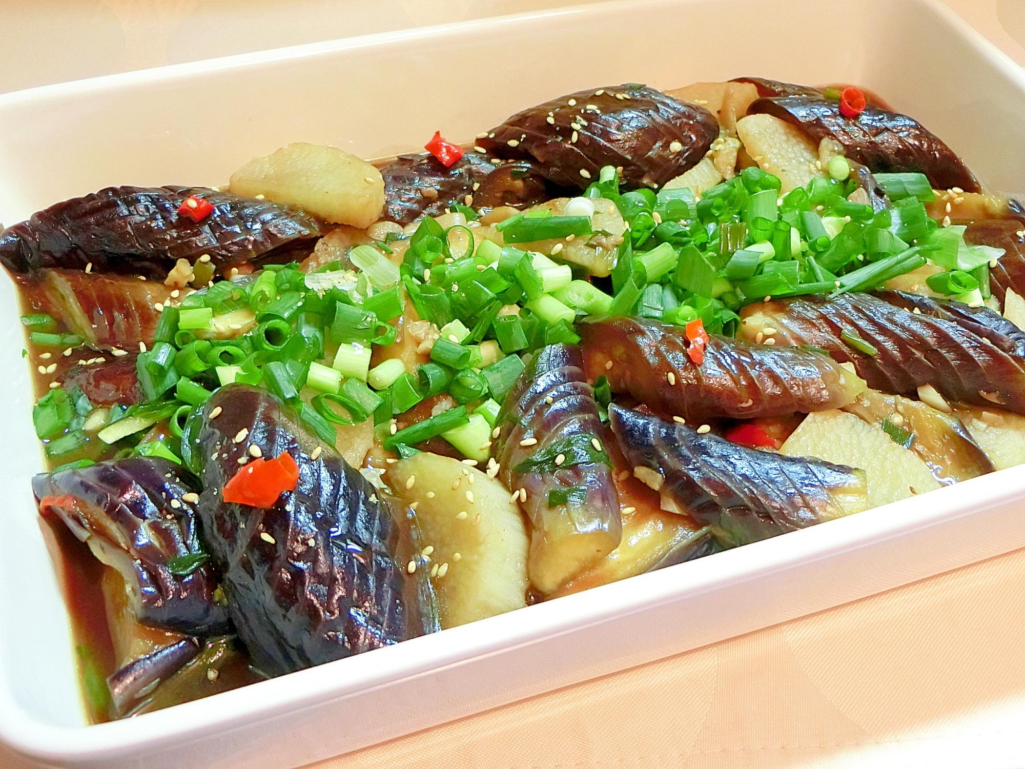 茄子と長芋のトロトロ煮