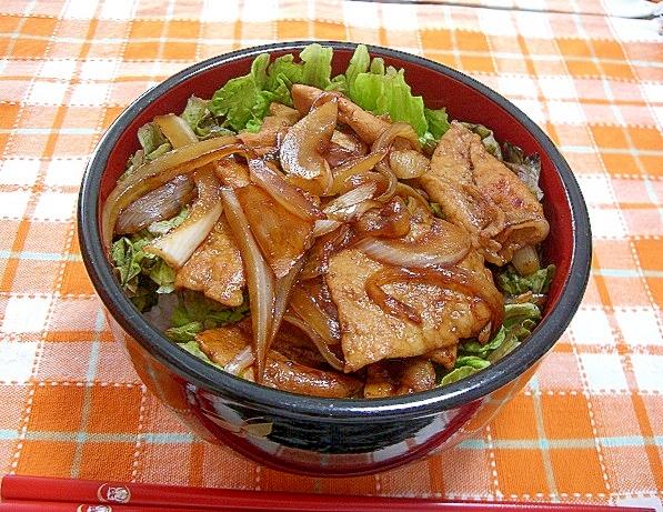 2.【豚ロース】甘辛豚丼