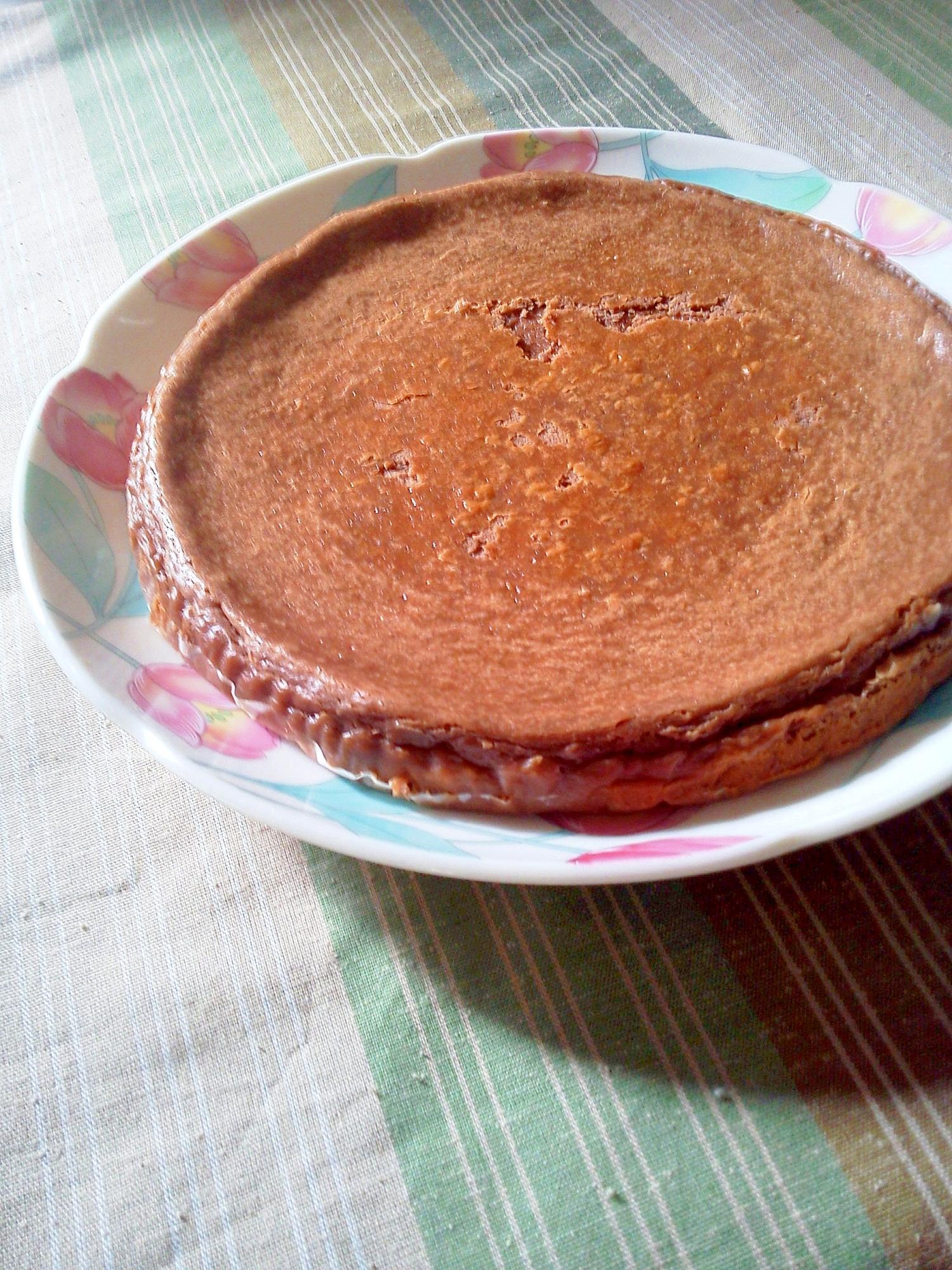 バレンタインに☆簡単♪チョコレートチーズケーキ☆★
