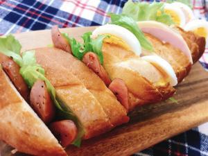 サンドイッチパン レシピ