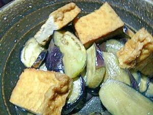 夏バテに♪ナスと厚揚げのがっつり煮