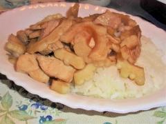 ゴーヤと鶏むね肉のオイスターソース炒め