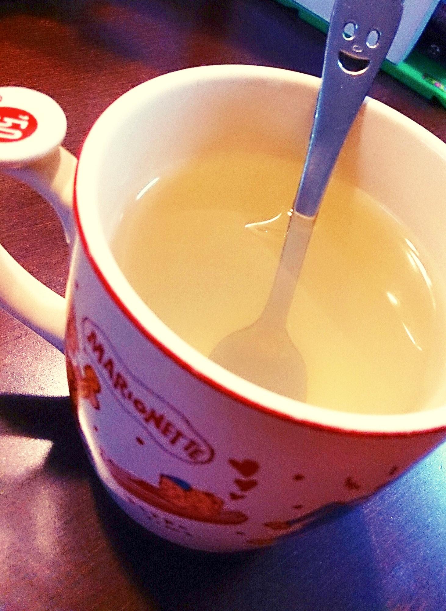 【糖質制限】レンジで簡単ホット寒天レモンドリンク