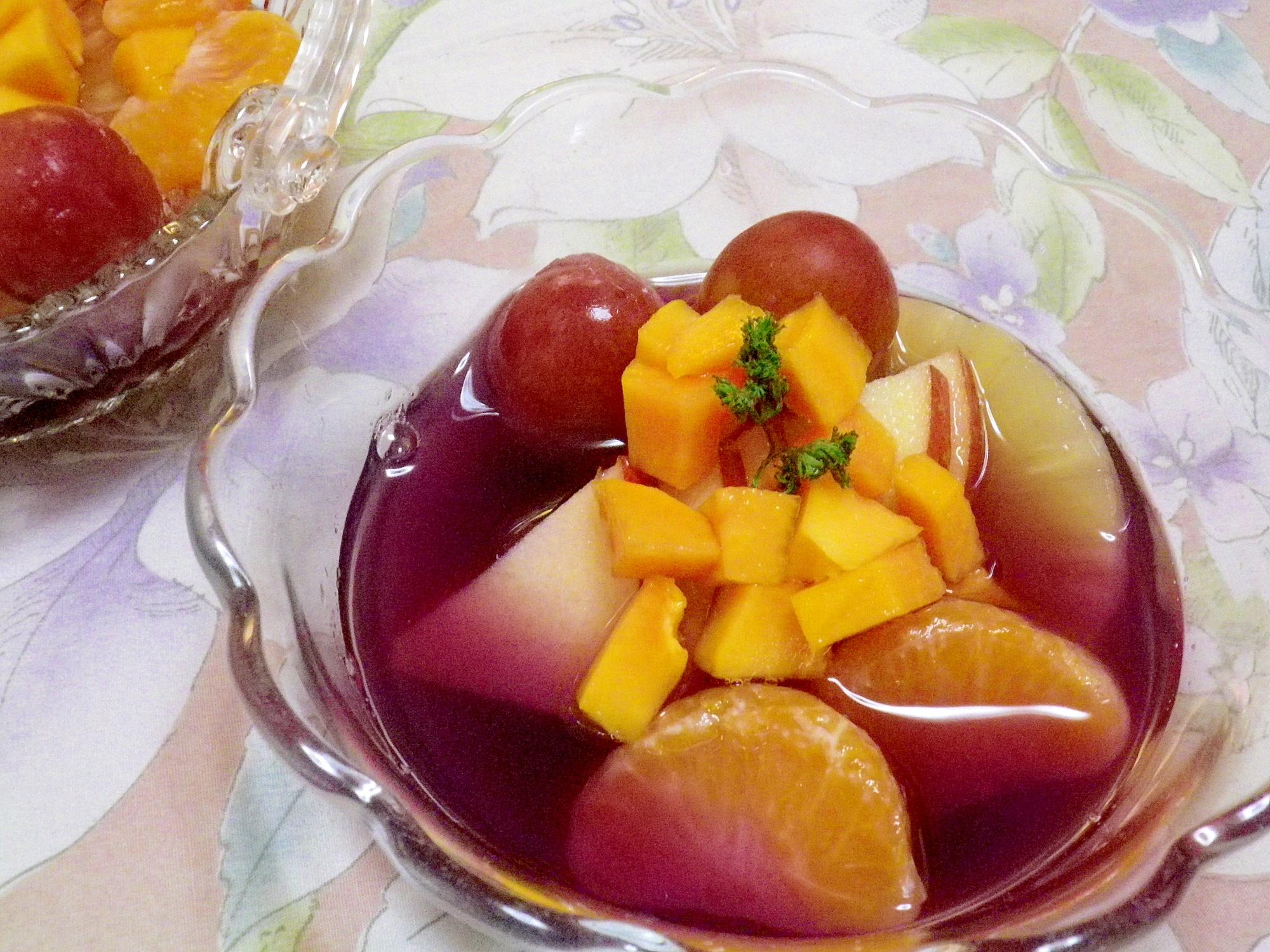 フルーツパンチ(ウェルチシロップ)