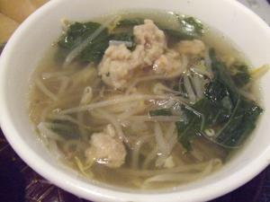 あったか中華風スープ♪