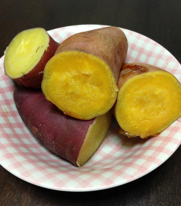 炊飯器で☆しっとり甘い焼き芋