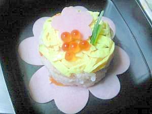 ちょっと手抜き★簡単ちらし寿司ケーキ♪
