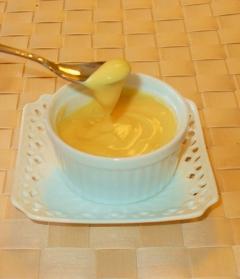 卵黄1個☆レンジで簡単♪本格カスタード