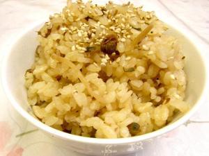 ふじっ子煮『生姜こんぶ』でしじみの炊き込みご飯